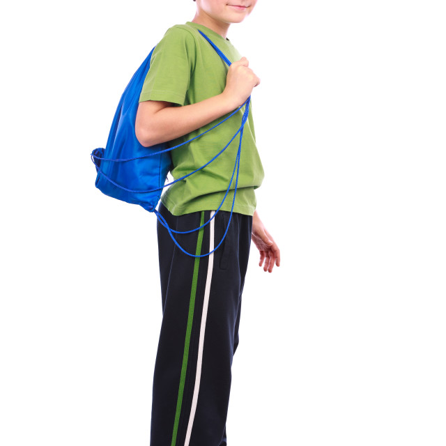 """Boy in sportswear"" stock image"