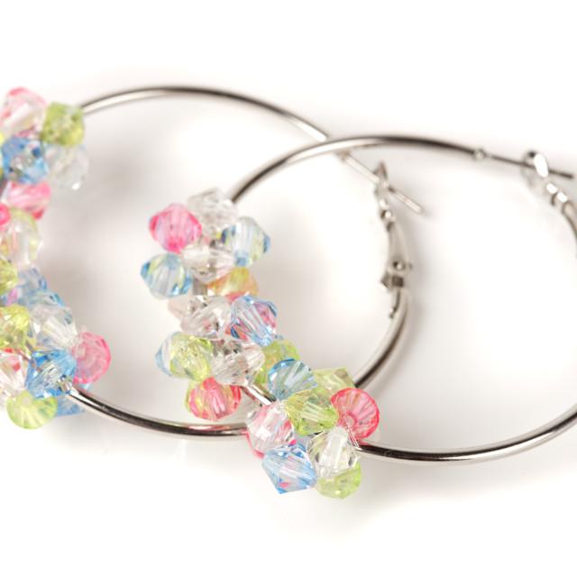 """Handmade jewelery"" stock image"
