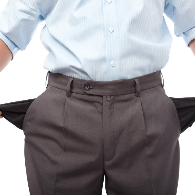 """Money crisis"" stock image"