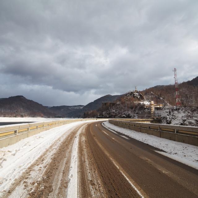 """Transfagarasan road"" stock image"
