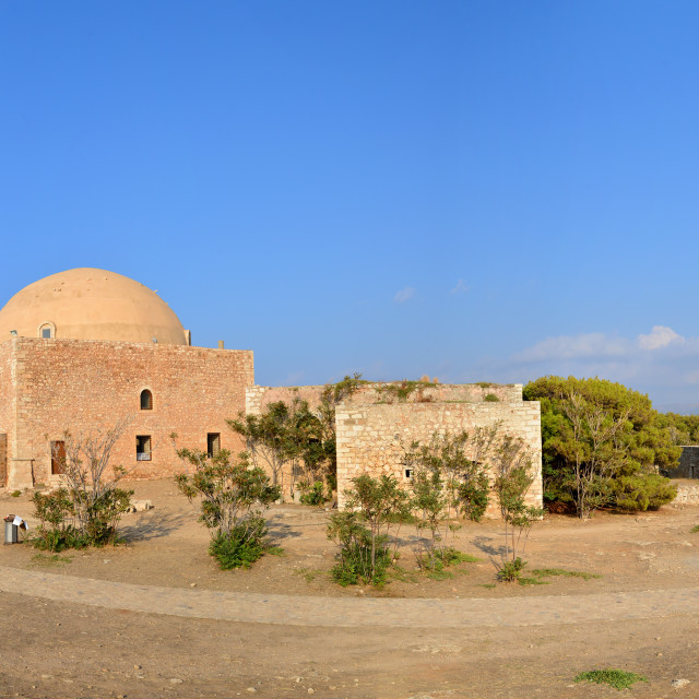 """Rethymno Fortezza fortress chapel"" stock image"