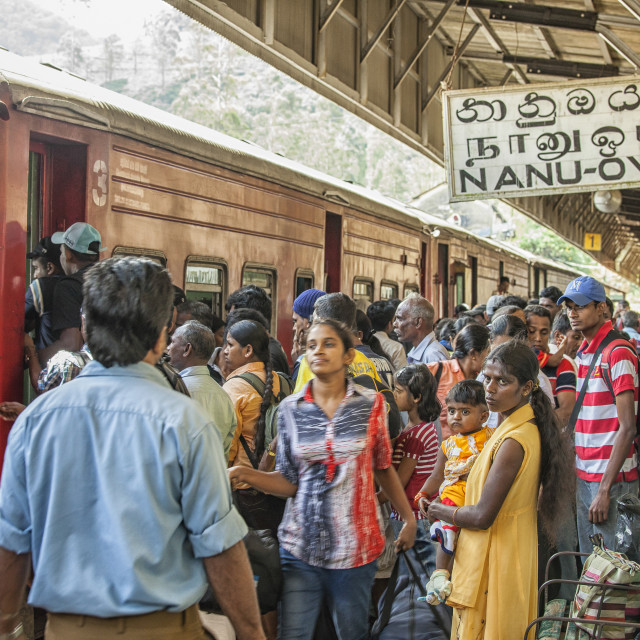 """""""Travel in Sri Lanka"""" stock image"""