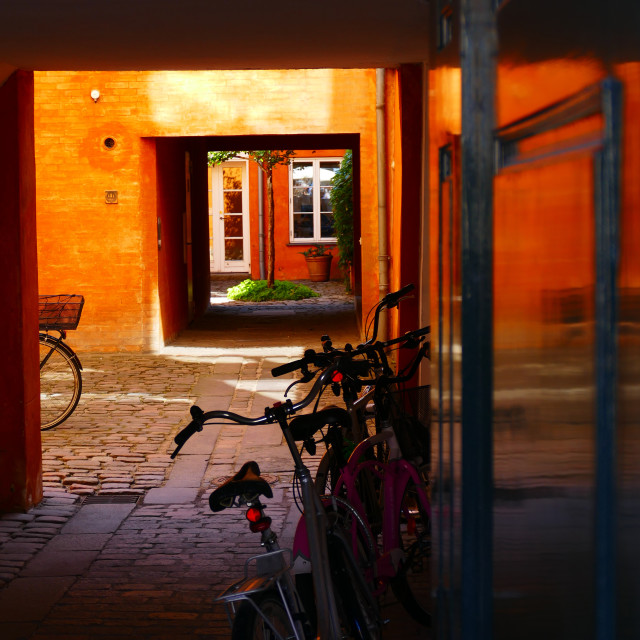 """Copenhagen colours"" stock image"