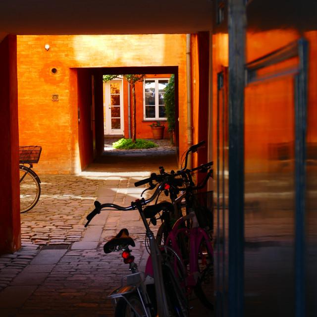 """Copenhagen colours"" stock image"