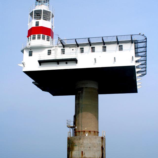 """Sovereign Light House"" stock image"