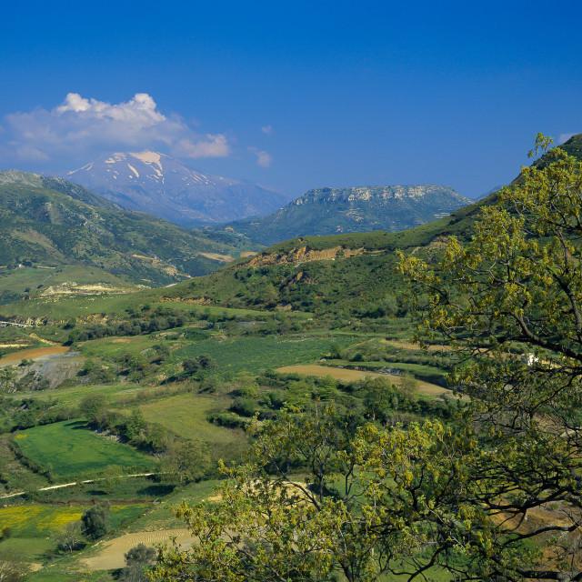 """Crete, Amari Valley"" stock image"