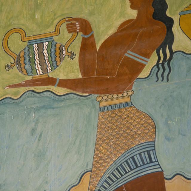 """""""Aquarius - The Water Bearer"""" stock image"""
