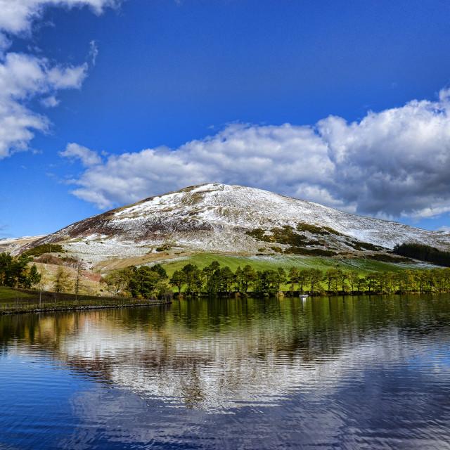 """""""Pentland Hills Midlothian, Scotland"""" stock image"""