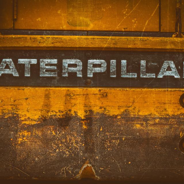 """""""Caterpillar Logo"""" stock image"""