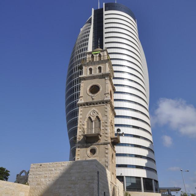 """""""Israel, Haifa"""" stock image"""