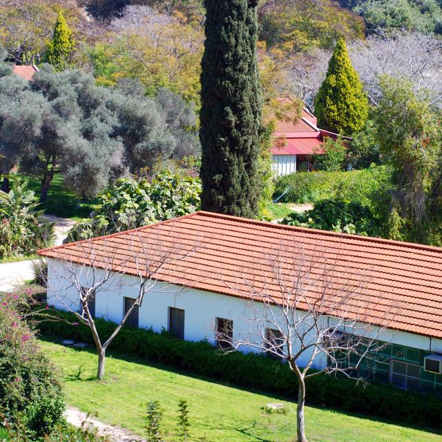 """Kibbutz housing, Israel"" stock image"