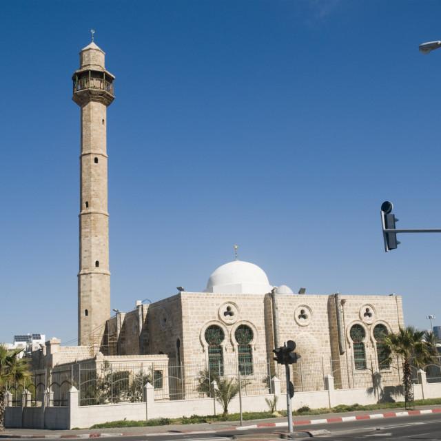 """Israel, Tel Aviv-Jaffa, Hassan Bek Mosque"" stock image"