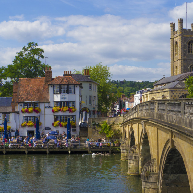 """Henley on Thames, Oxforshire , England"" stock image"