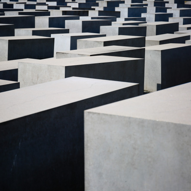 """Memorial for Murdered Jews"" stock image"