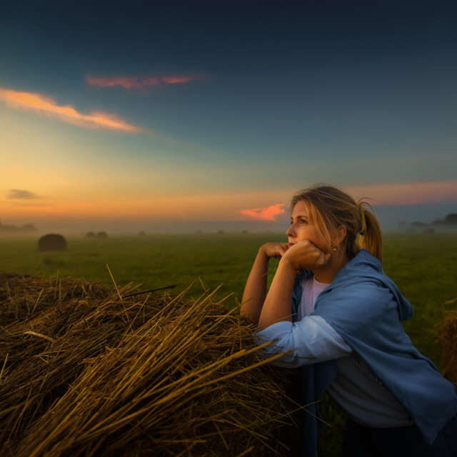 """""""Summer is leaving"""" stock image"""