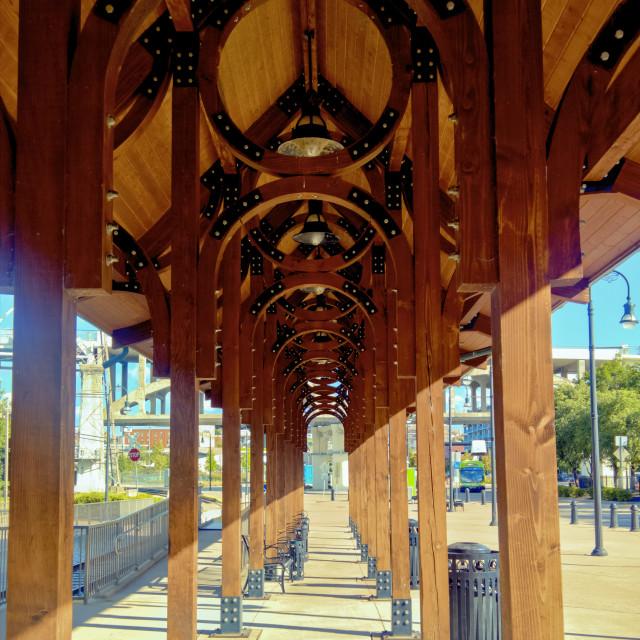 """Music City Riverfront Station"" stock image"
