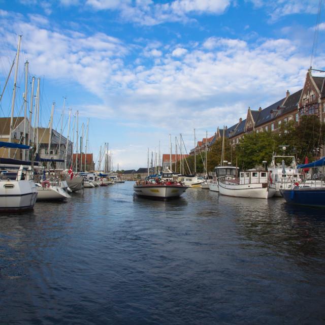 """""""Christianshavn"""" stock image"""