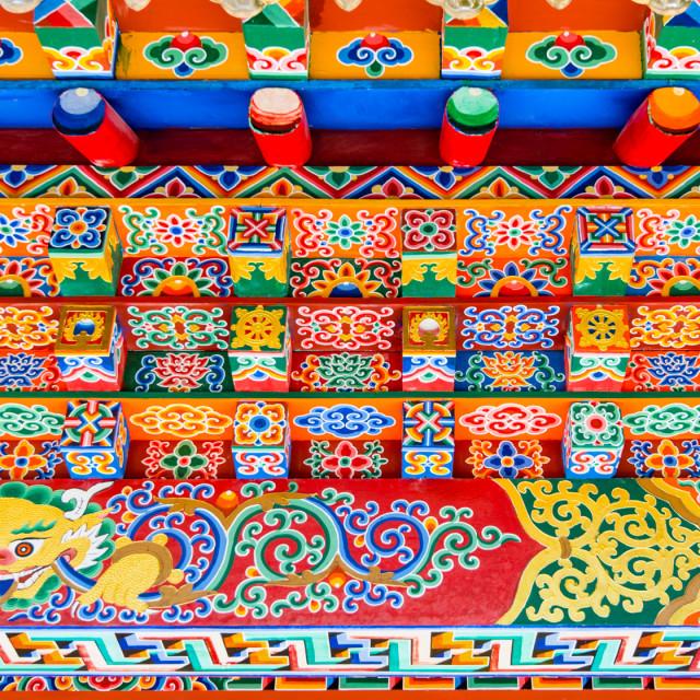 """Buddhist Temple"" stock image"