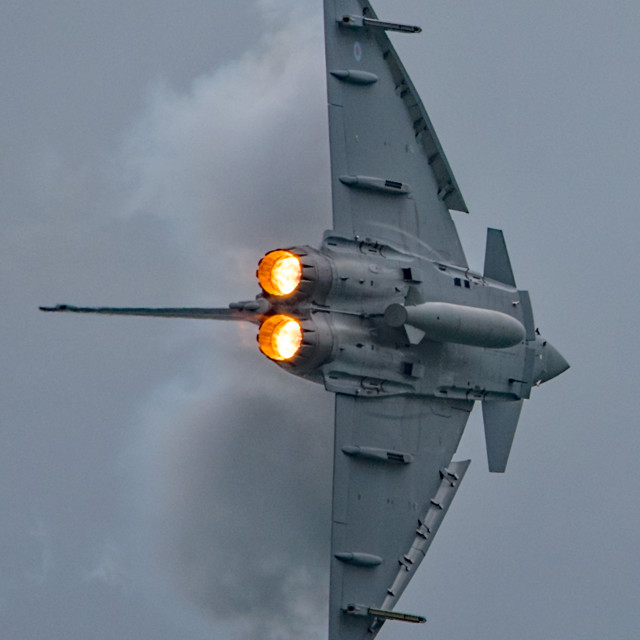 """RAF Typhoon FGR4 Display."" stock image"