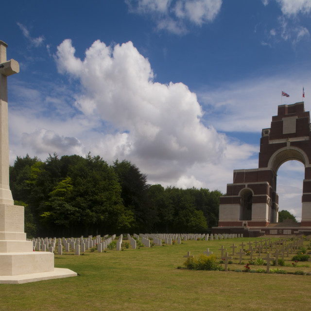 """""""Thiepval Memorial ,Somme France"""" stock image"""