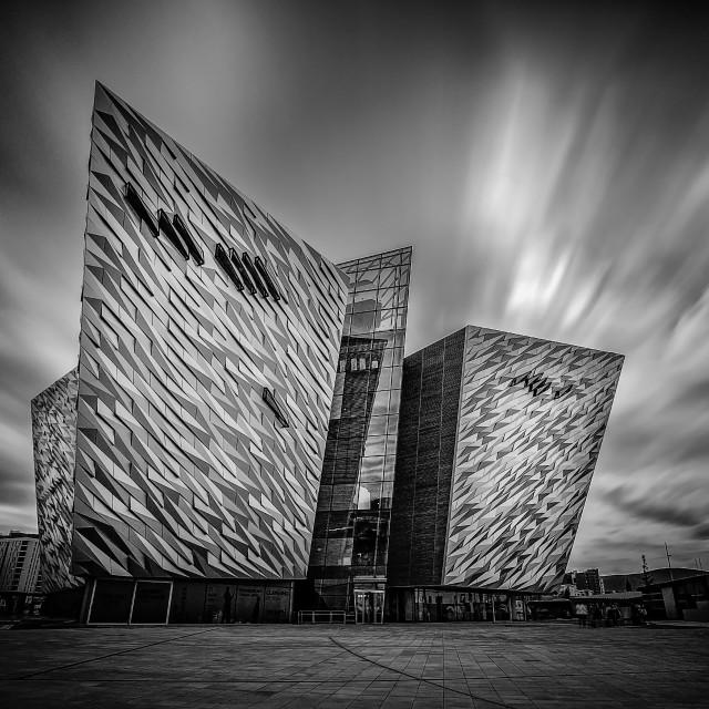 """Titanic Museum, Belfast"" stock image"