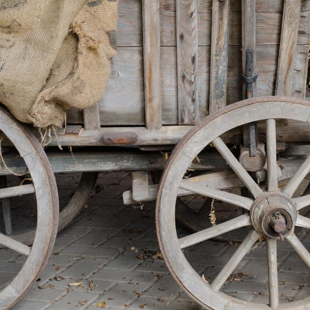 """""""Farming Nostalgia"""" stock image"""