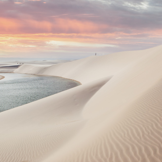 """Lencois Maranhenses National park"" stock image"