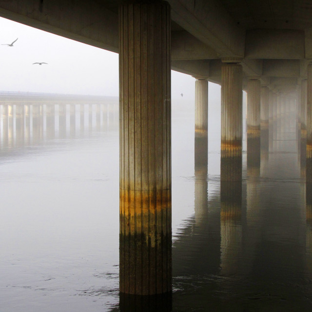 """Foggy Perspective"" stock image"