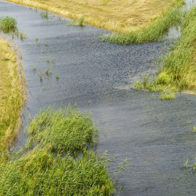 """Waters crossing"" stock image"
