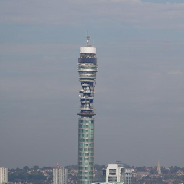 """London BT British Telecom Tower"" stock image"