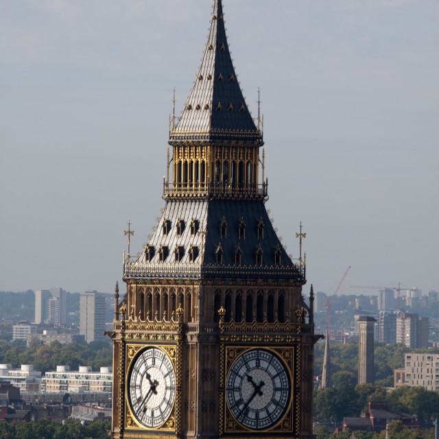 """The Big Ben Tower"" stock image"