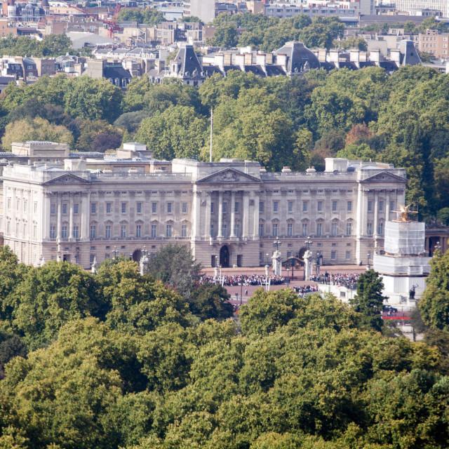 """""""London Buckingham Palace"""" stock image"""