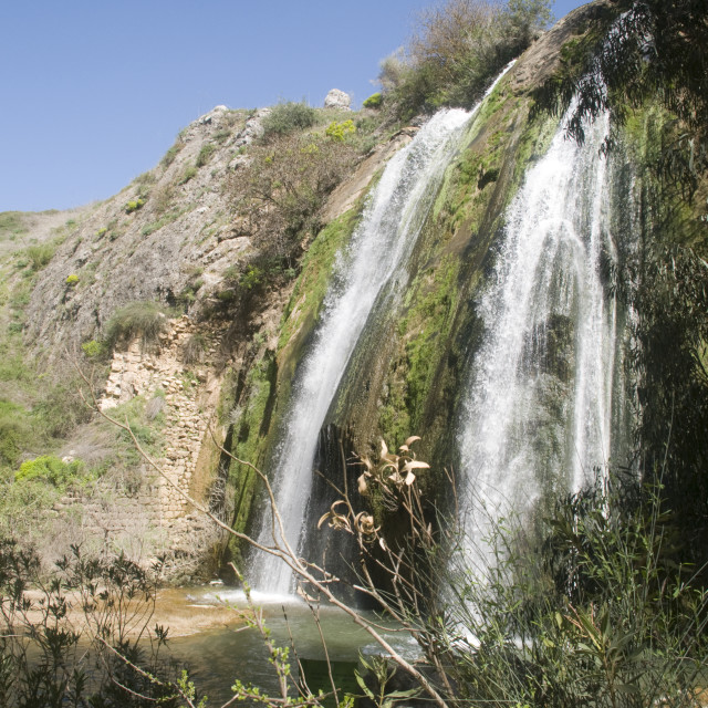 """""""Israel, Upper Galilee, Iyon River Nature reserve"""" stock image"""