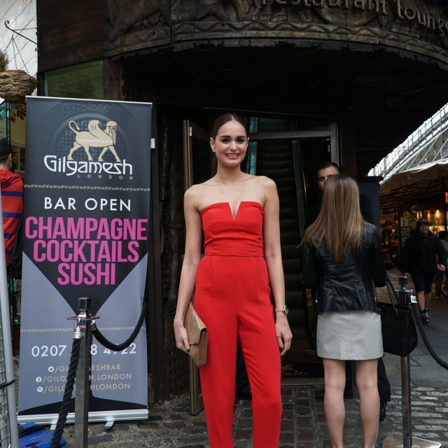 """Champagne Bar Launch Party at Gilgamesh in Camden, London"" stock image"