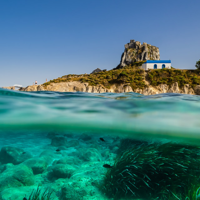 """Summer in Greece Kos island"" stock image"