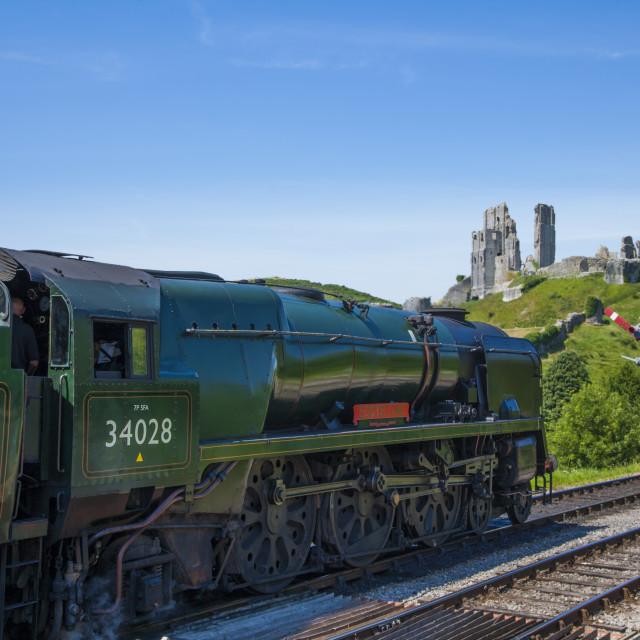 """Swanage Railway ,Dorset England"" stock image"