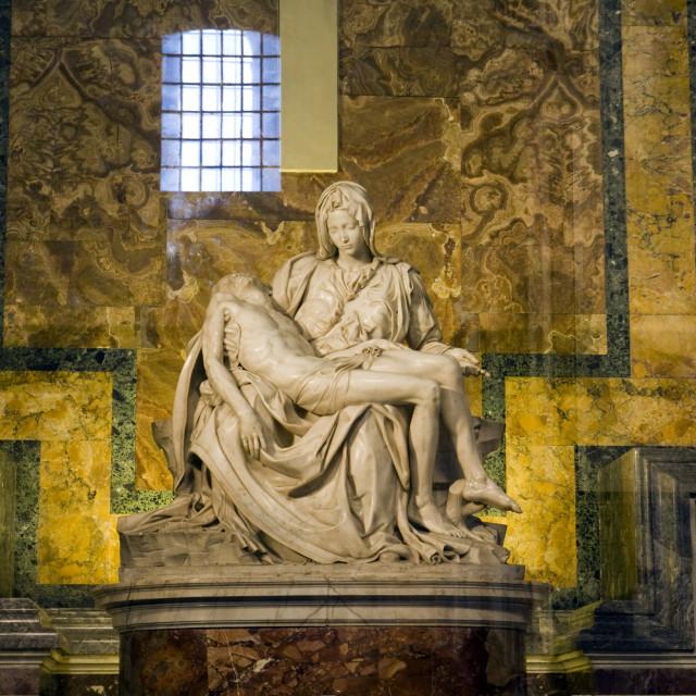 """Michelangelo Pieta Statue"" stock image"
