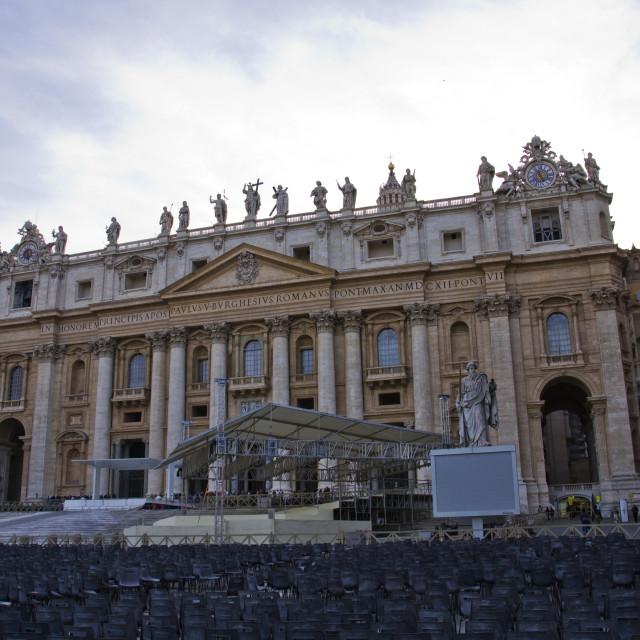 """St. Peter Basilica"" stock image"