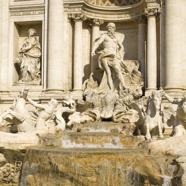 """Trevi's Fountain"" stock image"