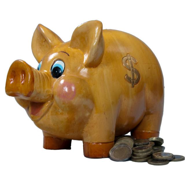 """""""Money Box"""" stock image"""