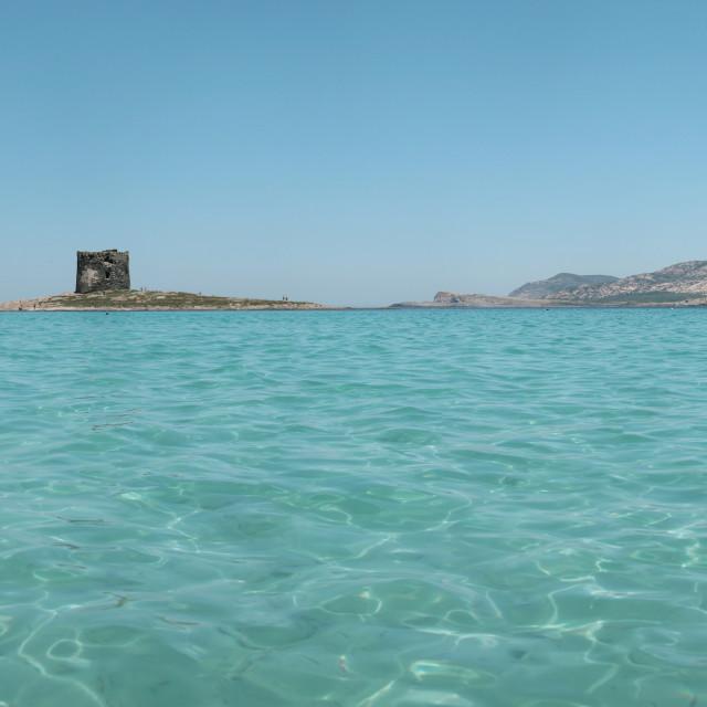 """""""Sardinia Panorama"""" stock image"""