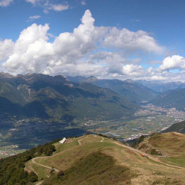 """Mountain Panorama"" stock image"