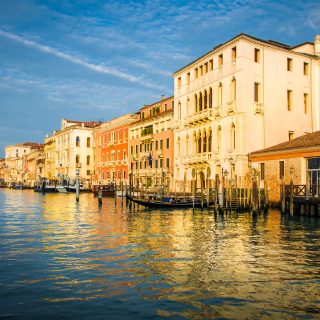 """The Grand Canal"" stock image"