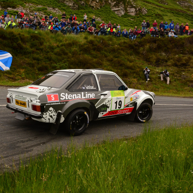 """David Bogie - Donegal International Rally 2016"" stock image"