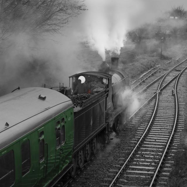"""""""Mid Hants Railway ,Hampshire, England."""" stock image"""