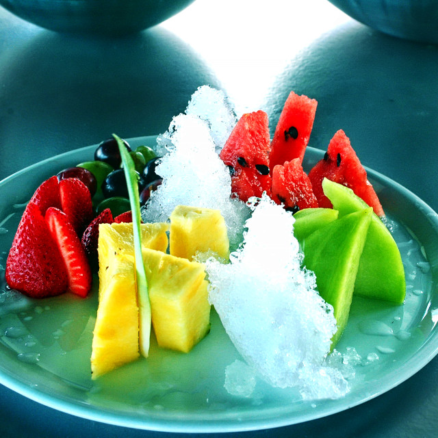 """""""Chilled Summer fruits"""" stock image"""