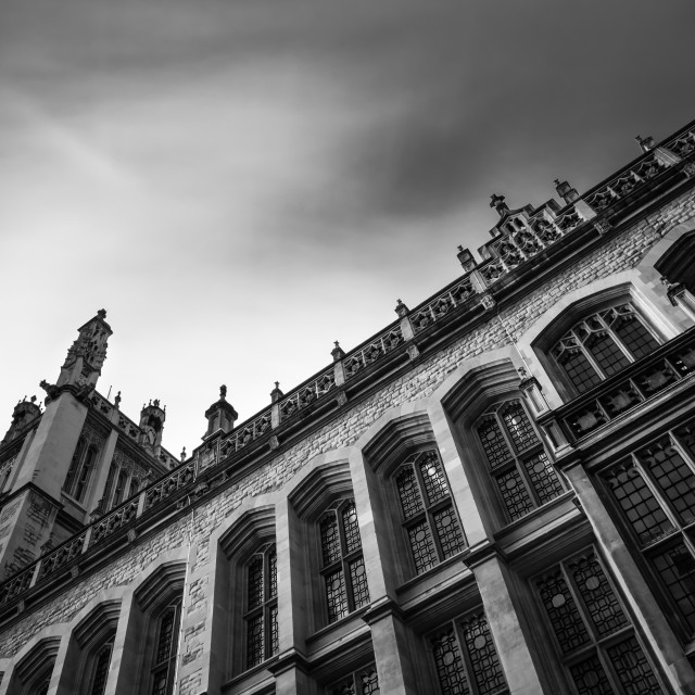 """""""Maughan Library"""" stock image"""