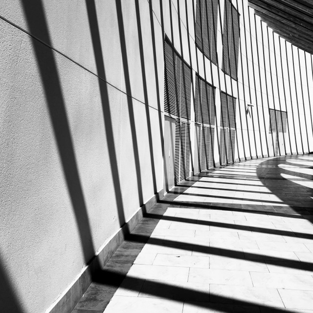 """Lines and shadows"" stock image"