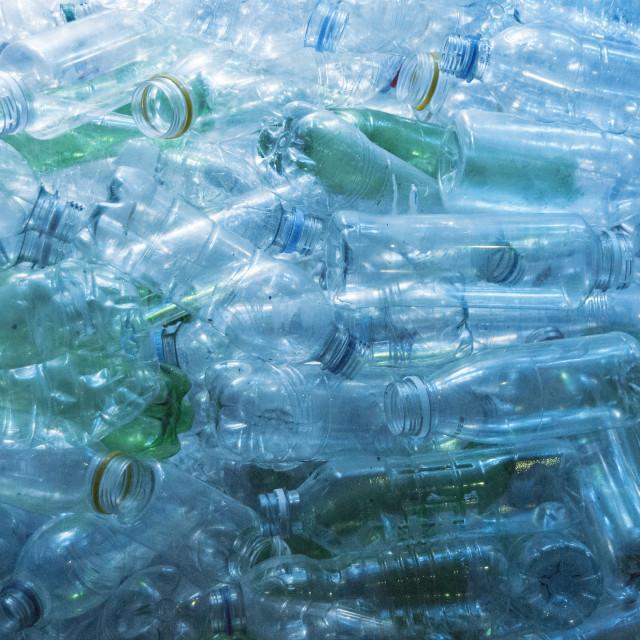 """""""Plastic Bottles"""" stock image"""