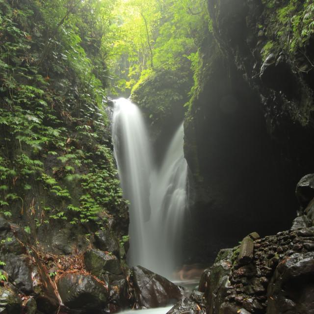 """""""Senggigit Waterfall bali"""" stock image"""